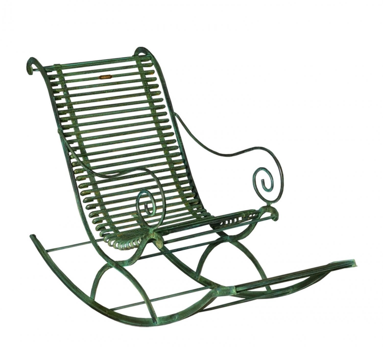 Ste ma inox ma inox inox fer forg aluminium fauteuil rocking chair - Fauteuil en fer forge ...
