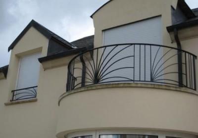 Barriere balcon moderne