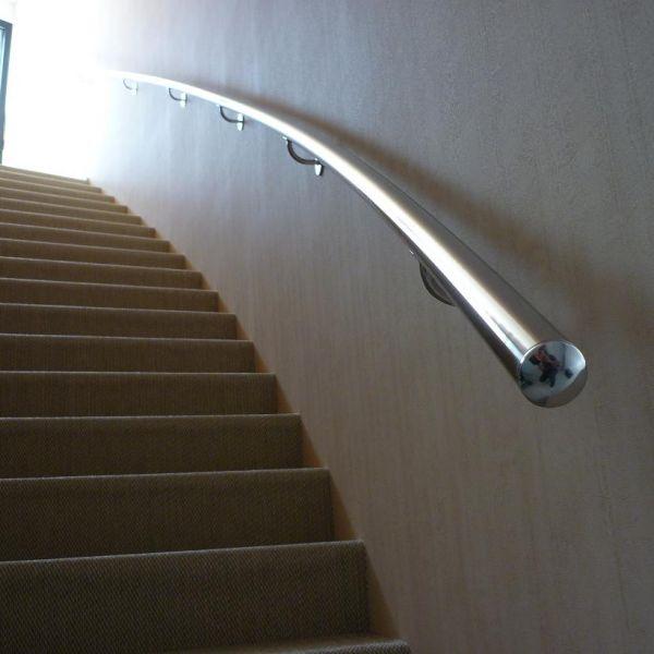 R alisations produits ste ma inox ma inox inox for Main courante escalier exterieur aluminium