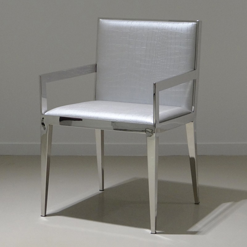 chaise ste ma inox ma inox inox fer forg aluminium