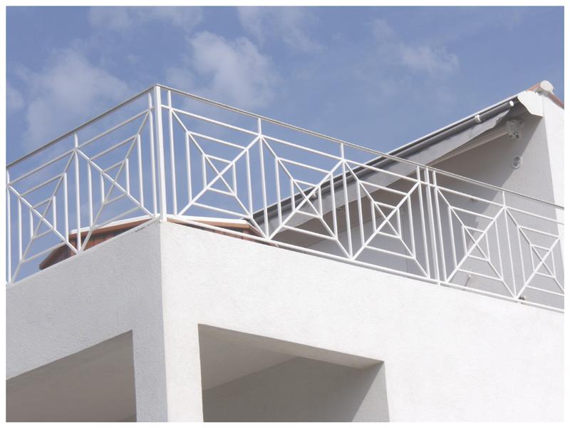 Garde corps balcon ste ma inox ma inox inox fer - Barriere de terrasse en fer ...