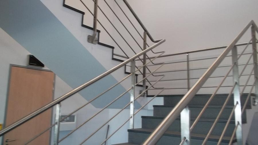 Inox total ste ma inox ma inox inox fer forg for Main courante escalier exterieur aluminium