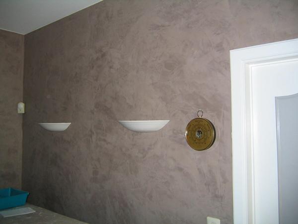 Peinture decorative murale interieur id es de d coration et de mobilier pour la conception de for Peinture murale gris beige
