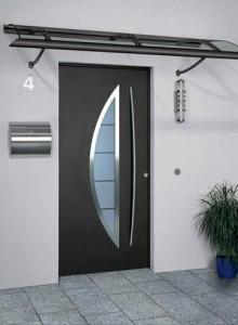 ... forgé  Aluminium » porte-entree-design-contemporain-metz-220×300