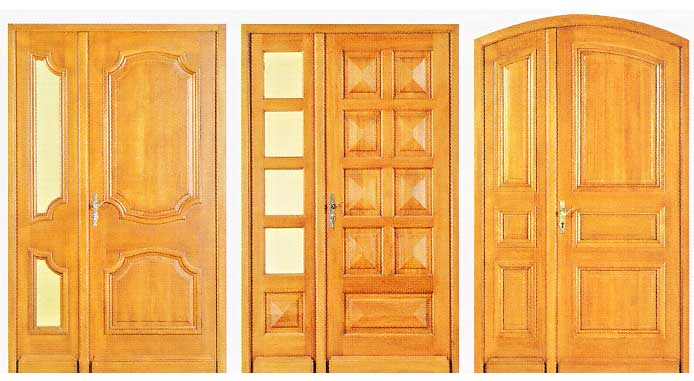 Superb porte double battant interieur 3 porte exterieure for Porte exterieure bois